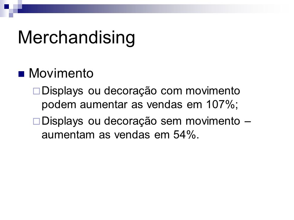 Merchandising Movimento