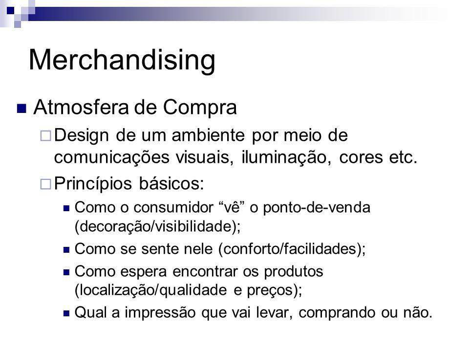 Merchandising Atmosfera de Compra