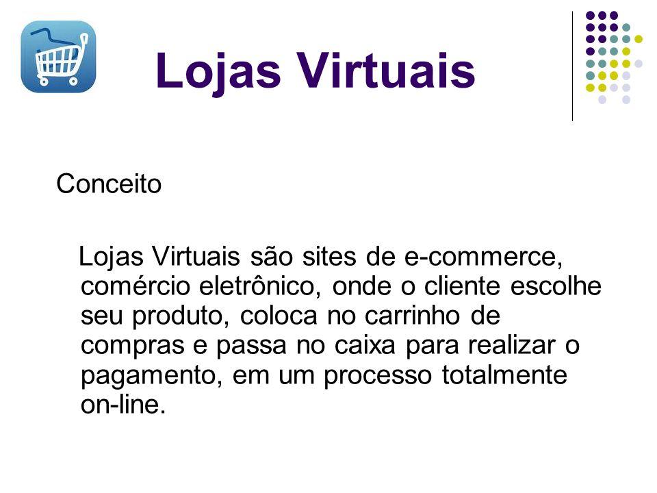 Lojas Virtuais Conceito
