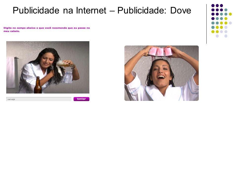 Publicidade na Internet – Publicidade: Dove