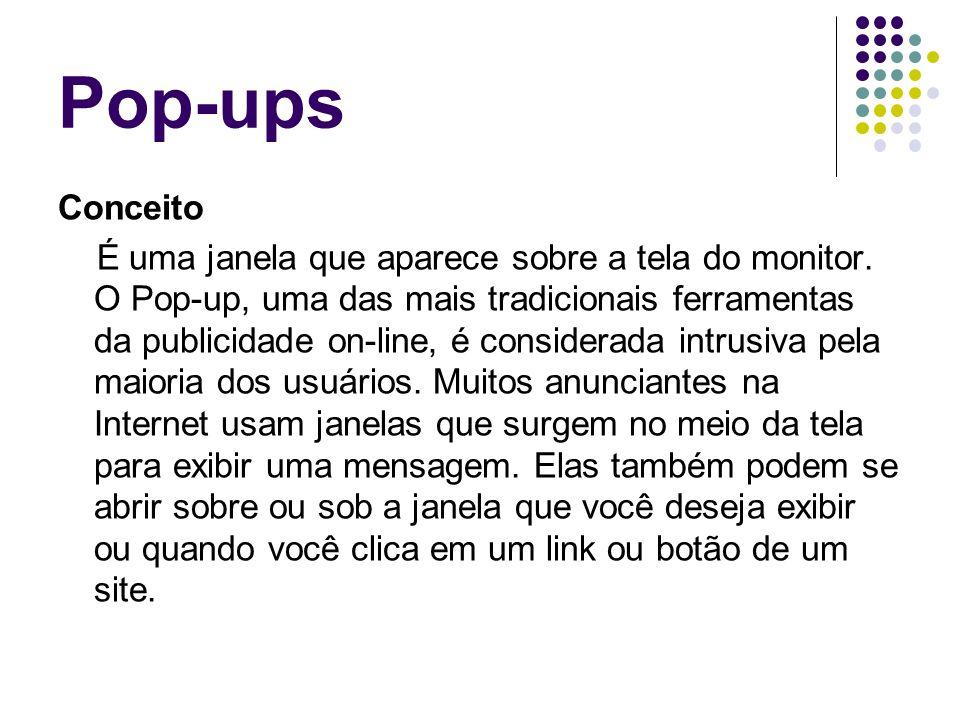 Pop-ups Conceito.