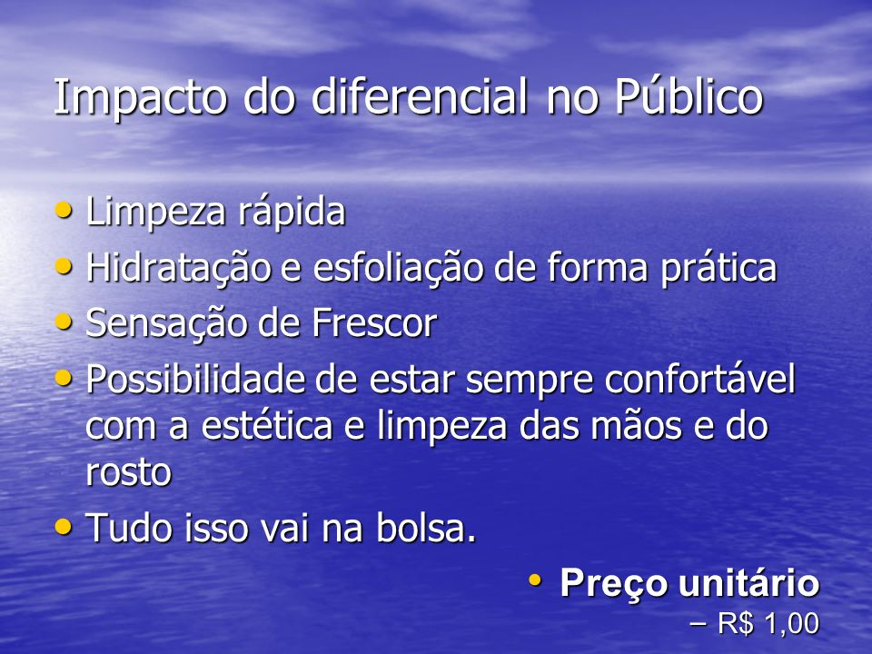 Impacto do diferencial no Público