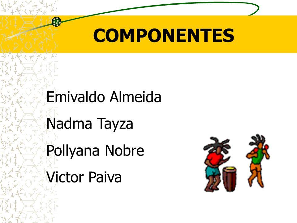COMPONENTES Emivaldo Almeida Nadma Tayza Pollyana Nobre Victor Paiva
