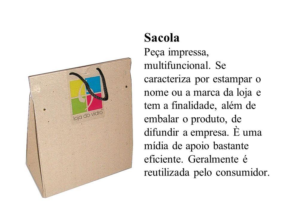 Sacola Peça impressa, multifuncional