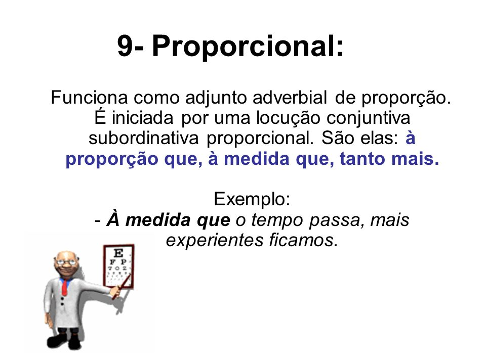 9- Proporcional: