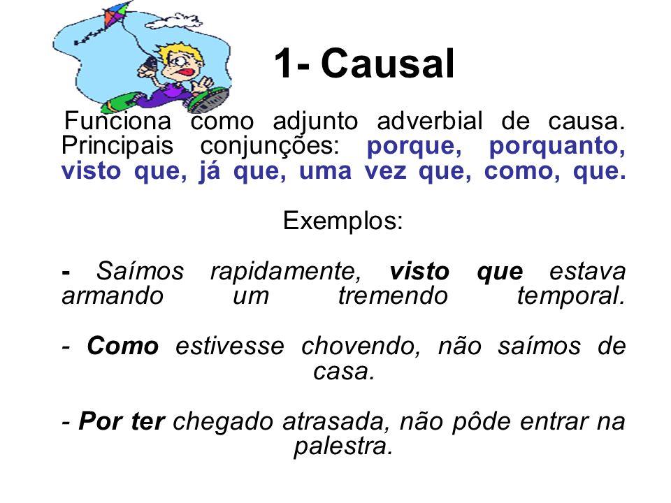 1- Causal