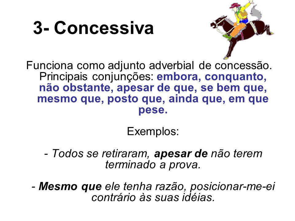 3- Concessiva