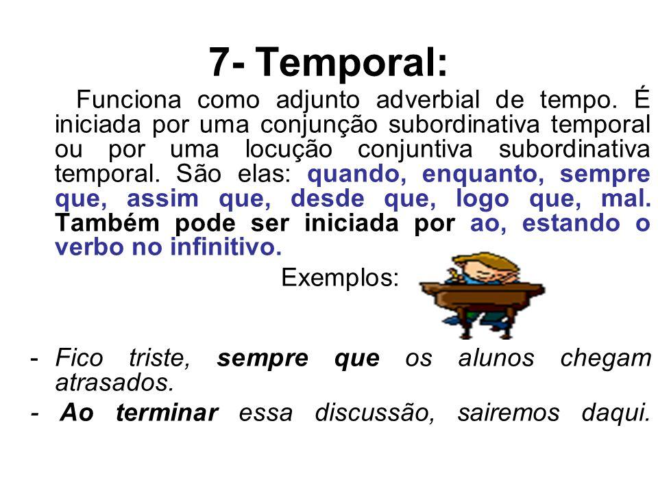 7- Temporal: