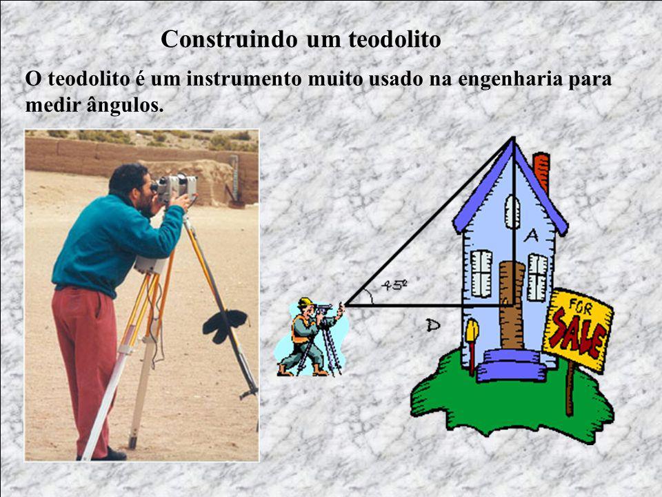 Construindo um teodolito