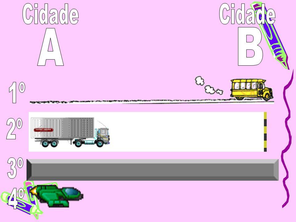 Cidade Cidade A B 1º 2º 3º 4º