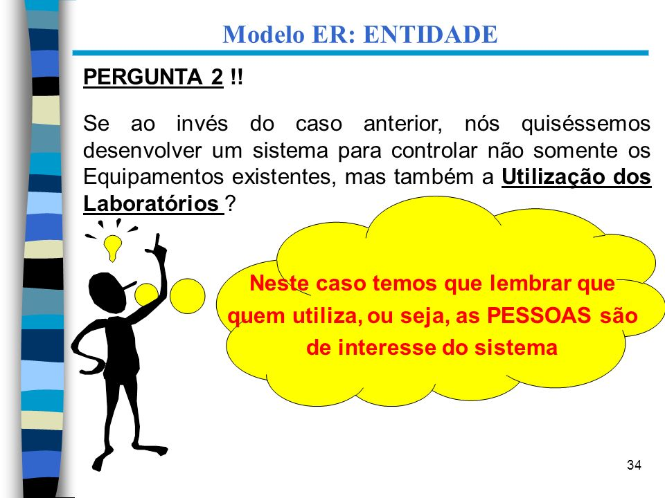 Modelo ER: ENTIDADE PERGUNTA 2 !!
