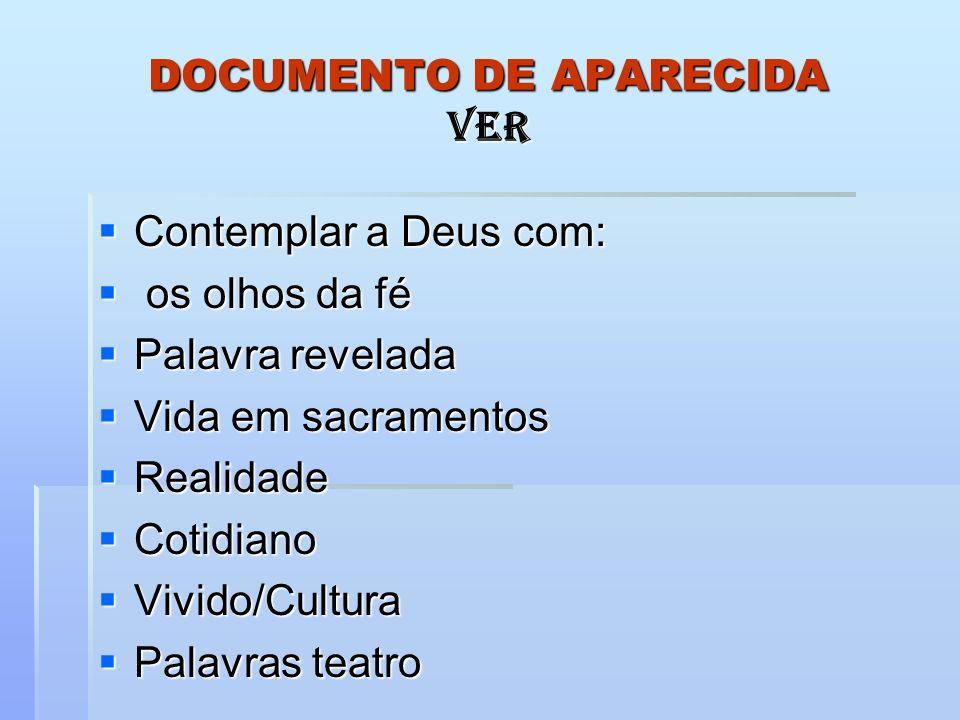 DOCUMENTO DE APARECIDA VER
