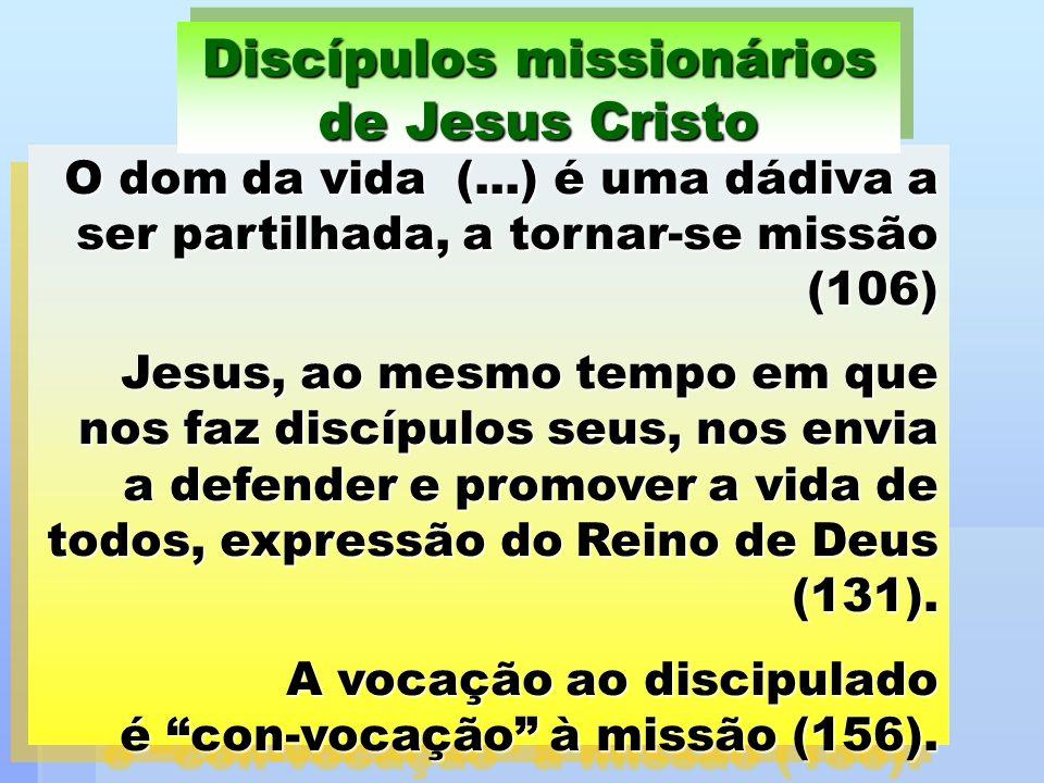 Discípulos missionários de Jesus Cristo