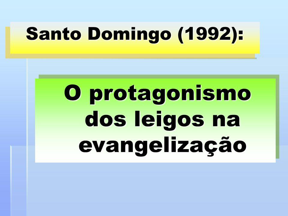 O protagonismo dos leigos na evangelização