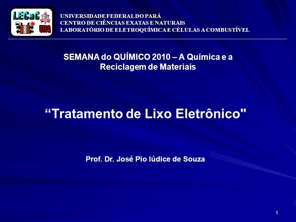 SEMANA do QUÍMICO 2010 – A Química e a Reciclagem de Materiais