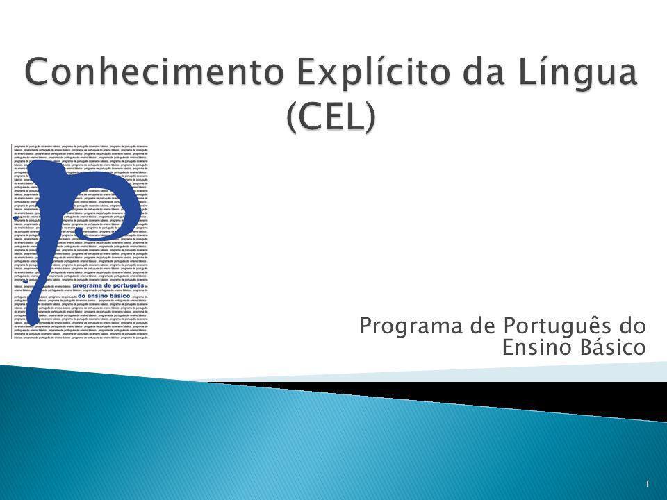 Conhecimento Explícito da Língua (CEL)