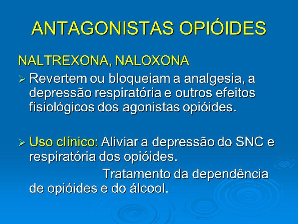 ANTAGONISTAS OPIÓIDES