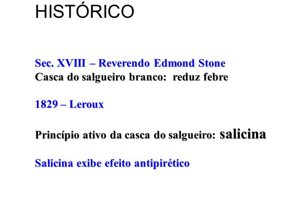 HISTÓRICO Sec. XVIII – Reverendo Edmond Stone