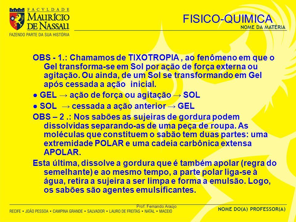 FISICO-QUIMICA