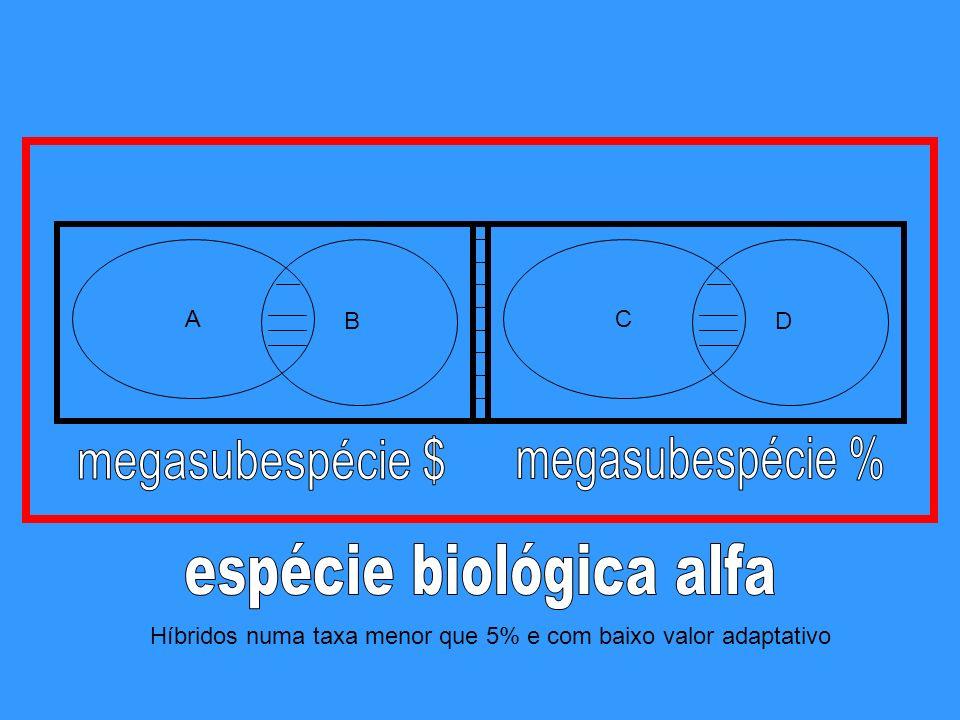 espécie biológica alfa