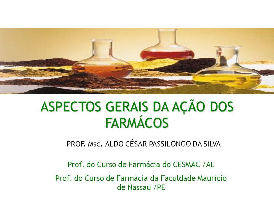ASPECTOS GERAIS DA AÇÃO DOS FARMÁCOS