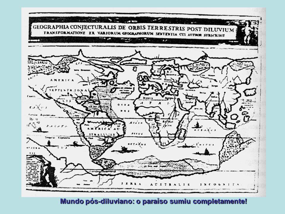 Mundo pós-diluviano: o paraíso sumiu completamente!