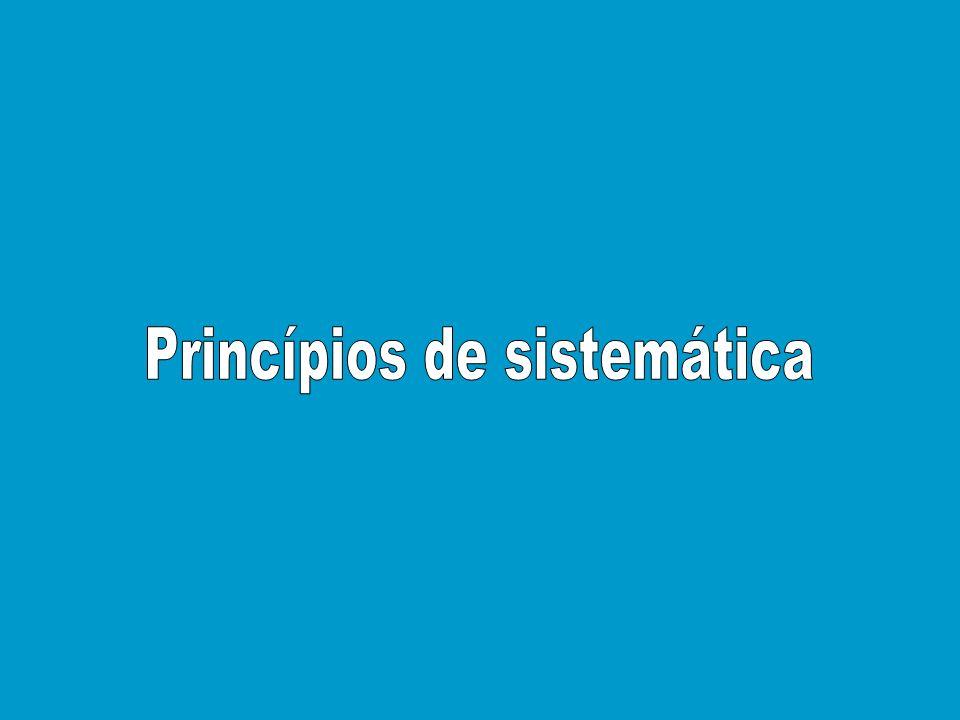 Princípios de sistemática