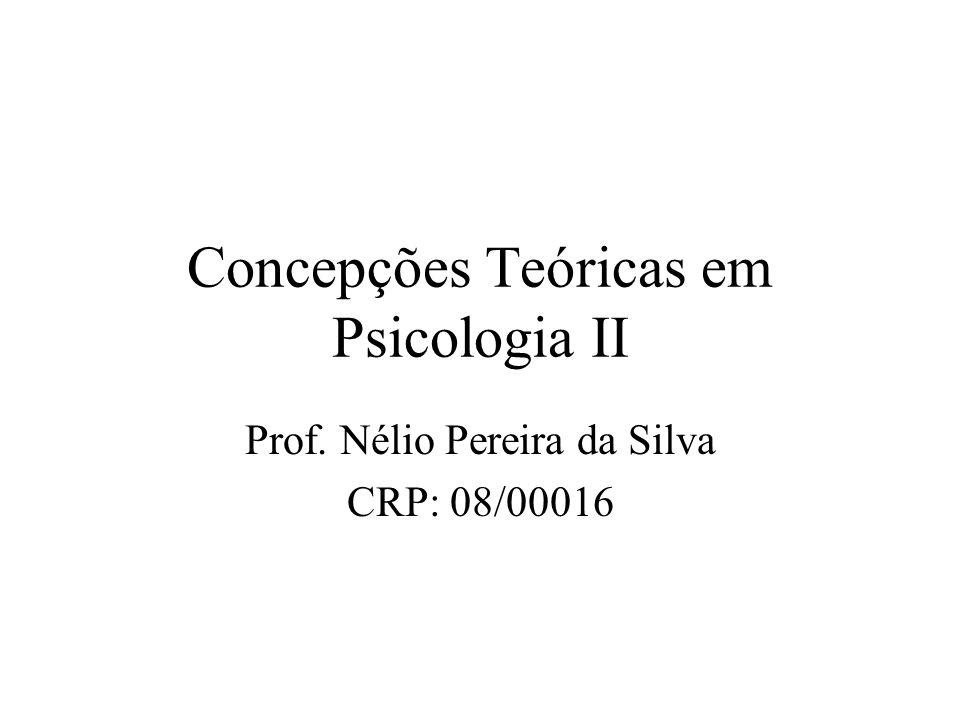 Concepções Teóricas em Psicologia II