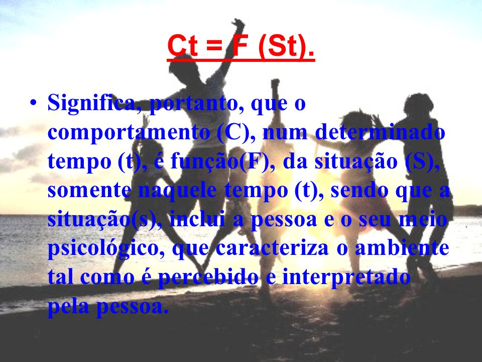 Ct = F (St).