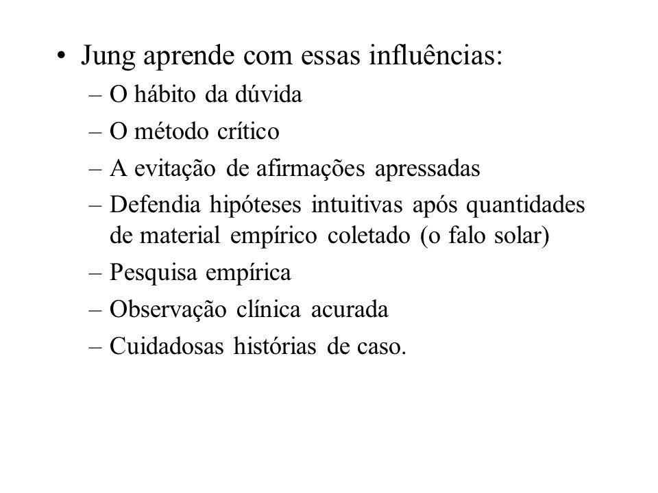 Jung aprende com essas influências: