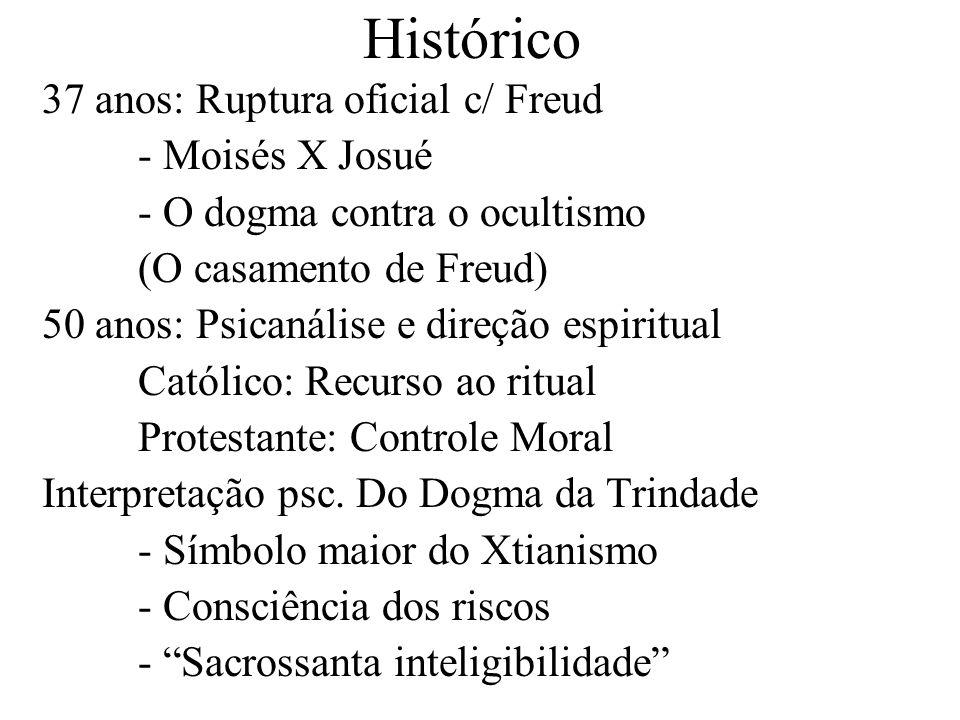 Histórico 37 anos: Ruptura oficial c/ Freud - Moisés X Josué