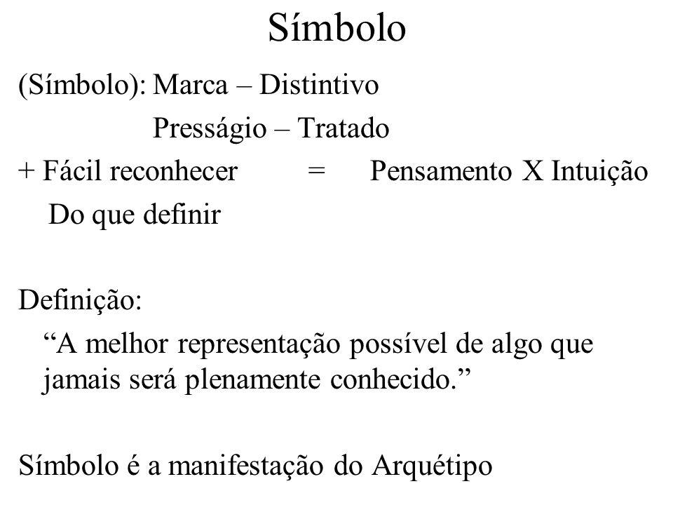 Símbolo (Símbolo): Marca – Distintivo Presságio – Tratado