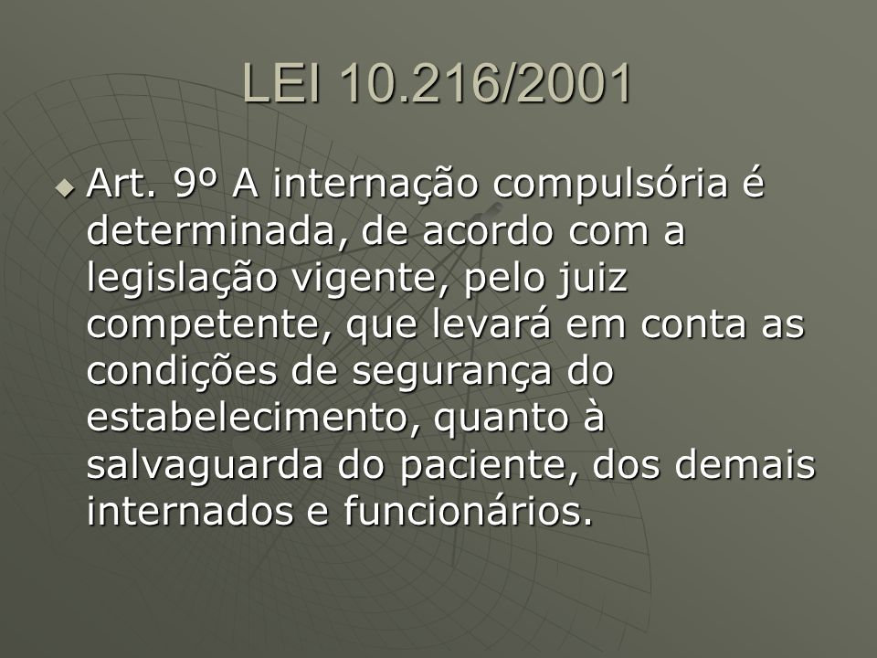 LEI 10.216/2001