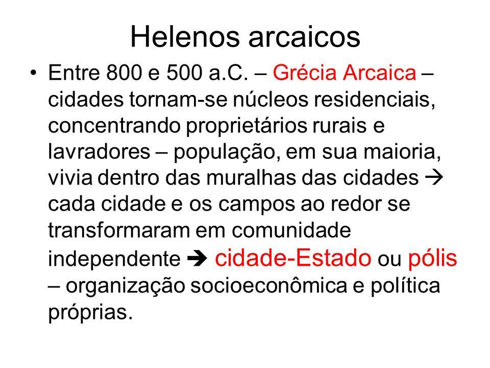 Helenos arcaicos