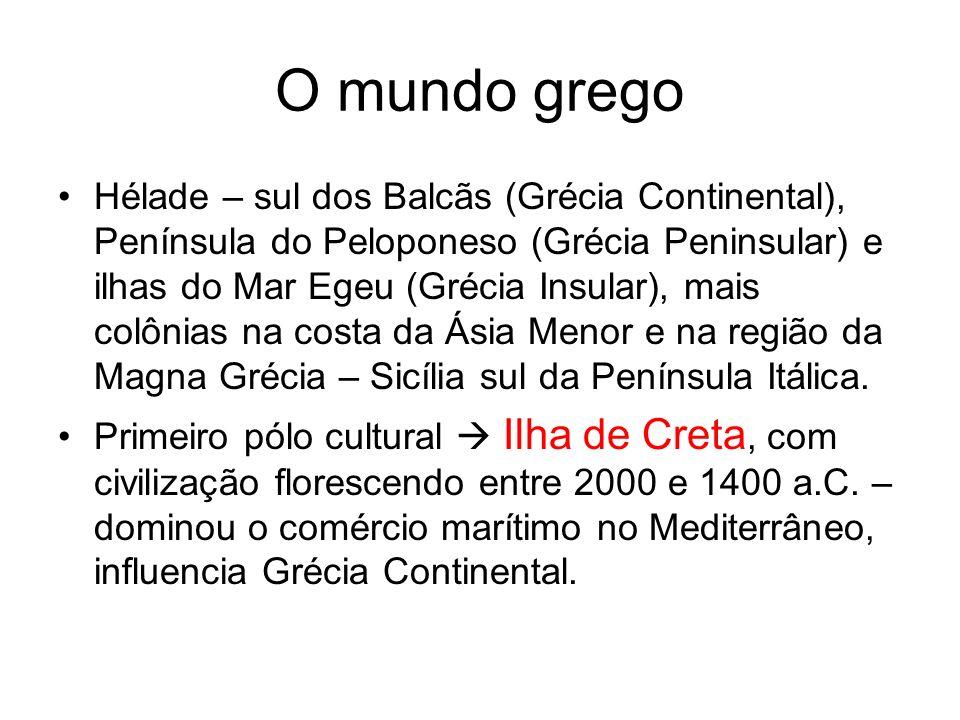 O mundo grego