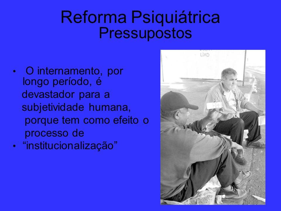 Reforma Psiquiátrica Pressupostos