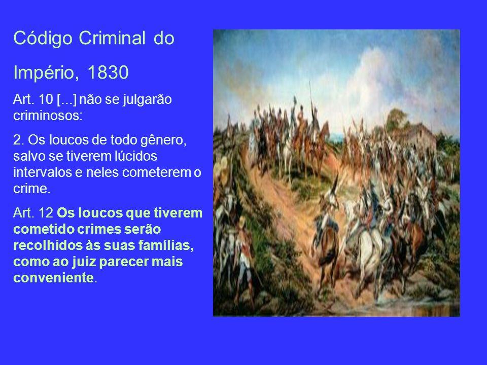 Código Criminal do Império, 1830