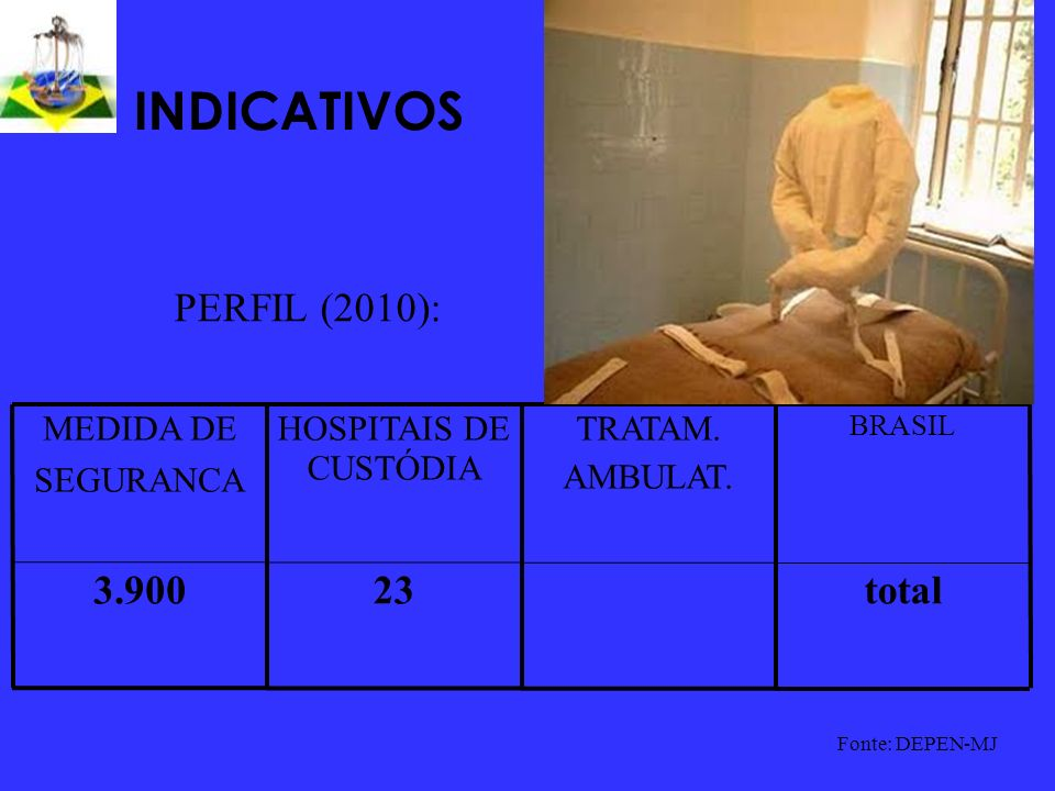 INDICATIVOS PERFIL (2010): total 23 3.900 TRATAM. AMBULAT.