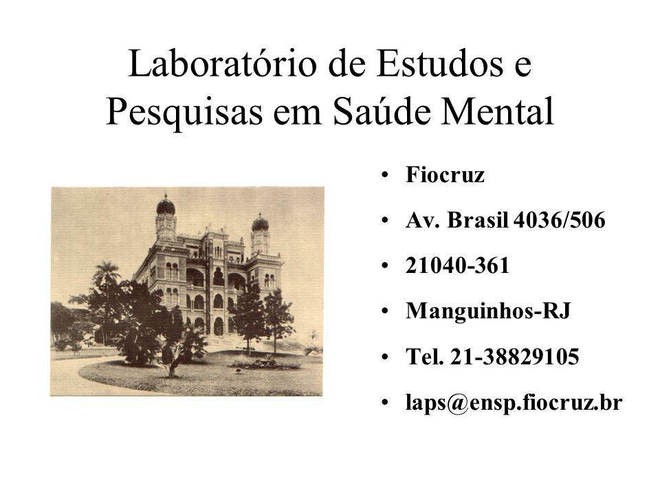 Laboratório de Estudos e Pesquisas em Saúde Mental