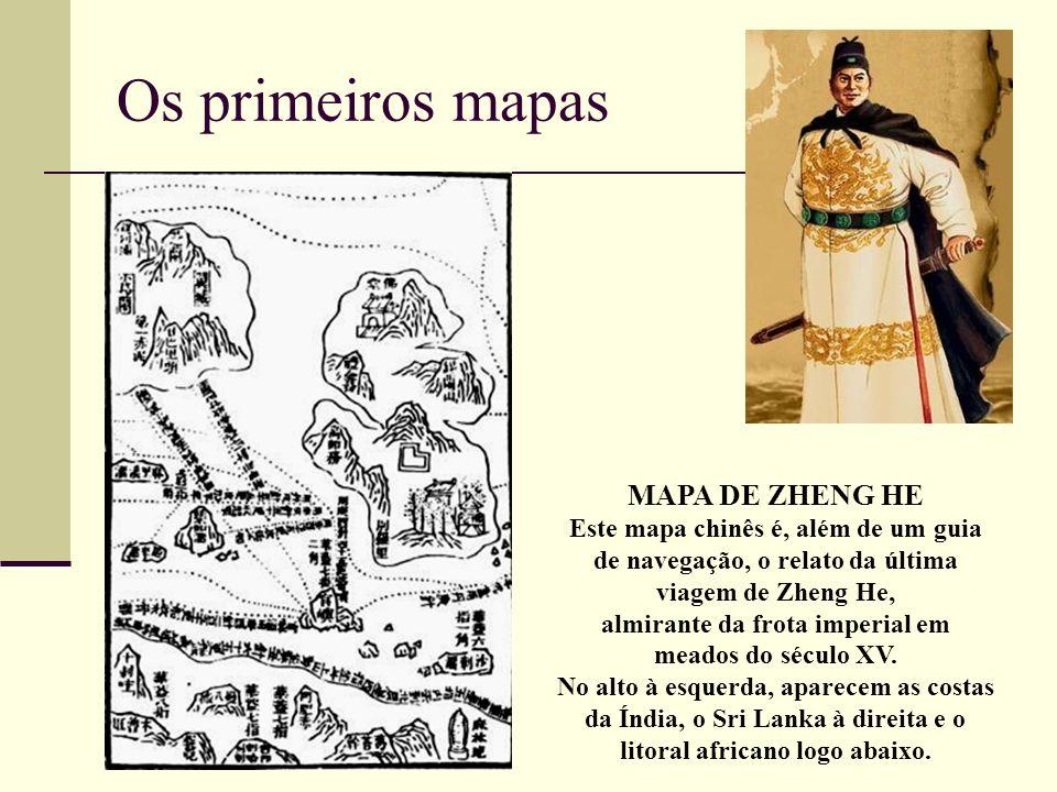 Os primeiros mapas