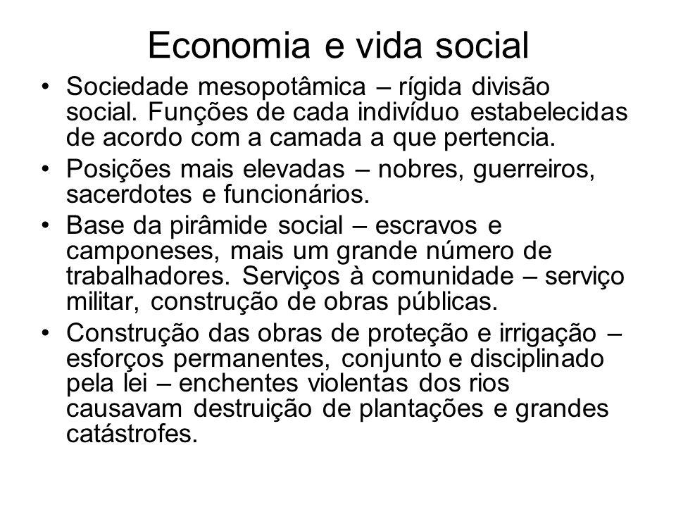 Economia e vida social
