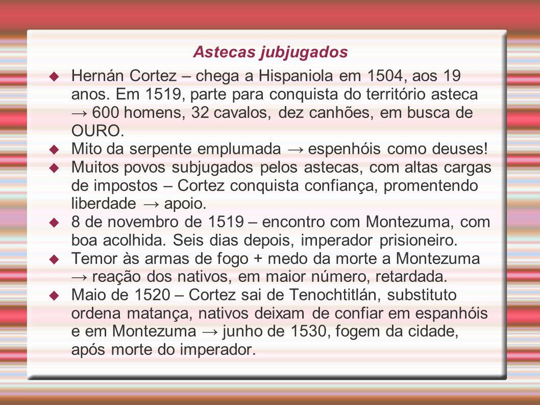 Astecas jubjugados