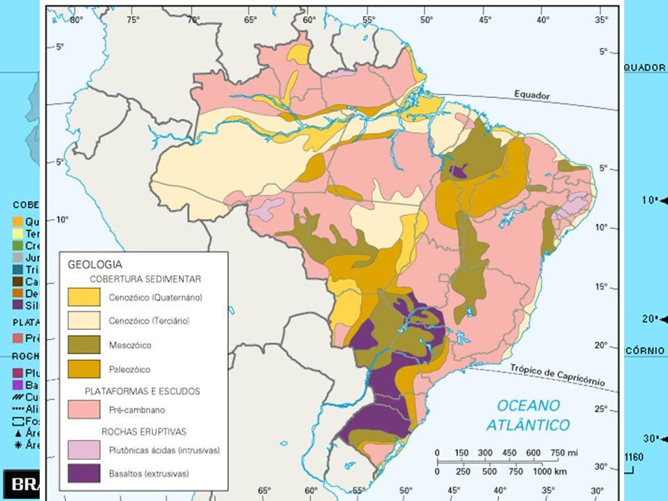 Principais características geológicas do Brasil