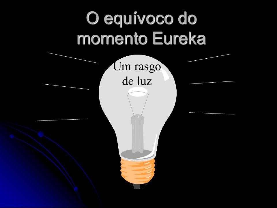 O equívoco do momento Eureka