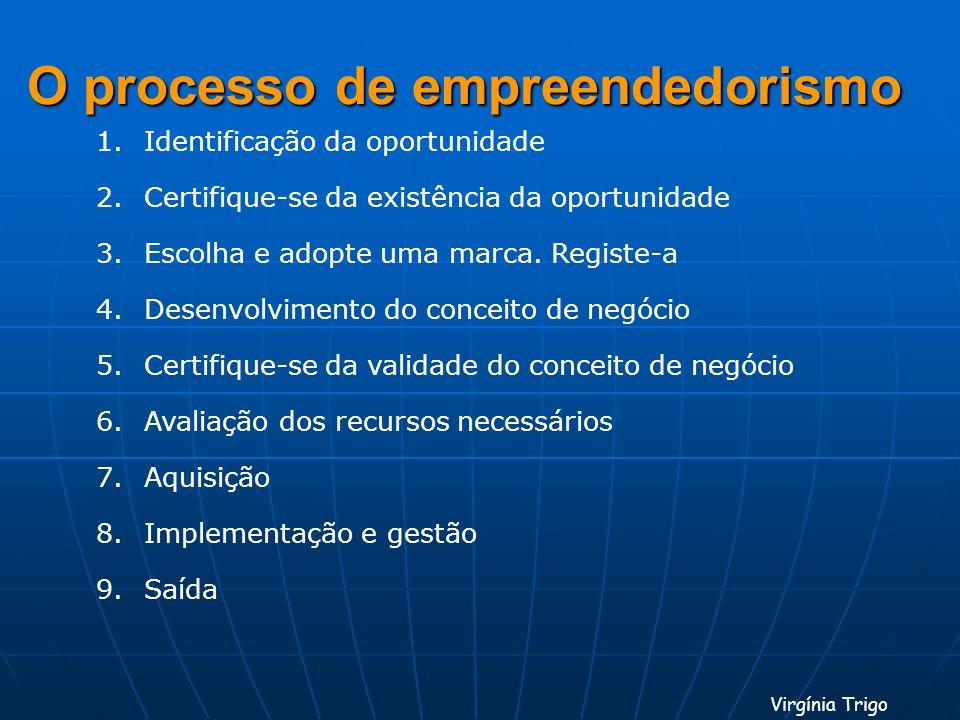 O processo de empreendedorismo
