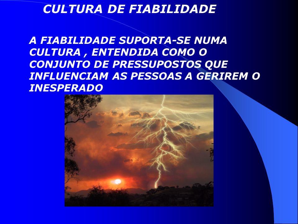 CULTURA DE FIABILIDADE