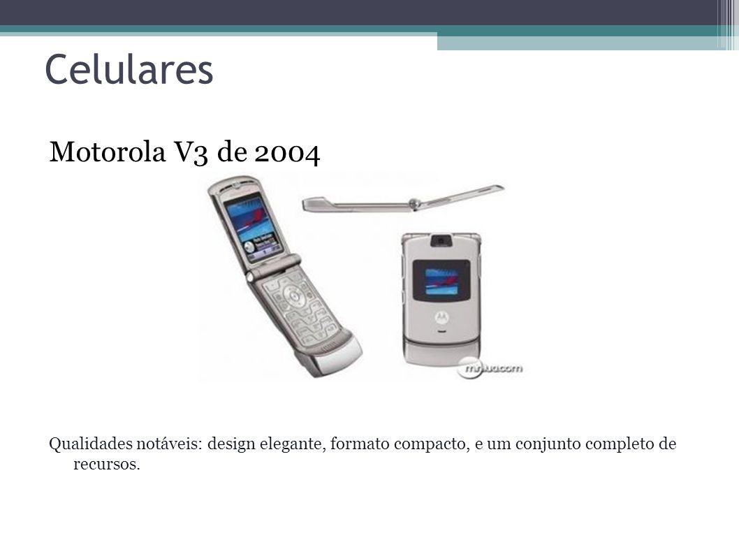 Celulares Motorola V3 de 2004