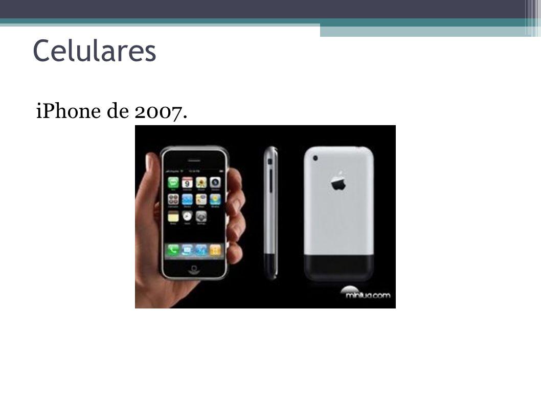 Celulares iPhone de 2007. 16