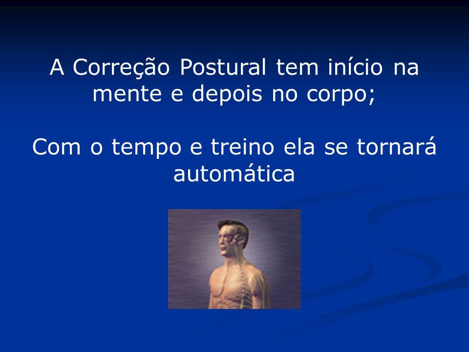 A Correção Postural tem início na mente e depois no corpo;