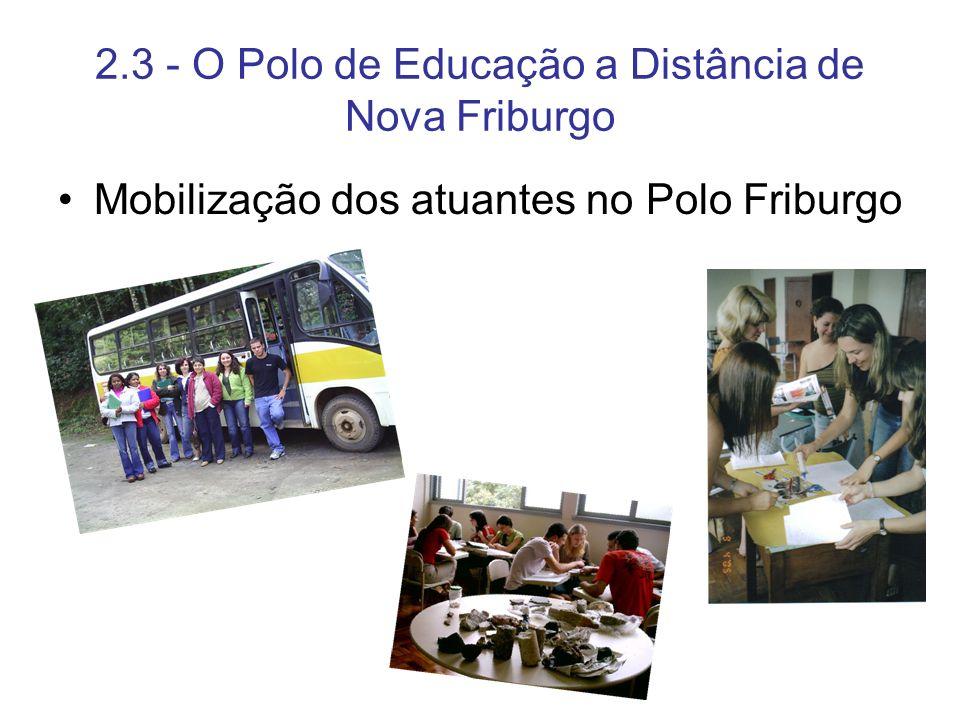 2.3 - O Polo de Educação a Distância de Nova Friburgo